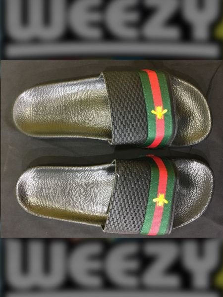 Less than 5000 Gucci Bee Slide