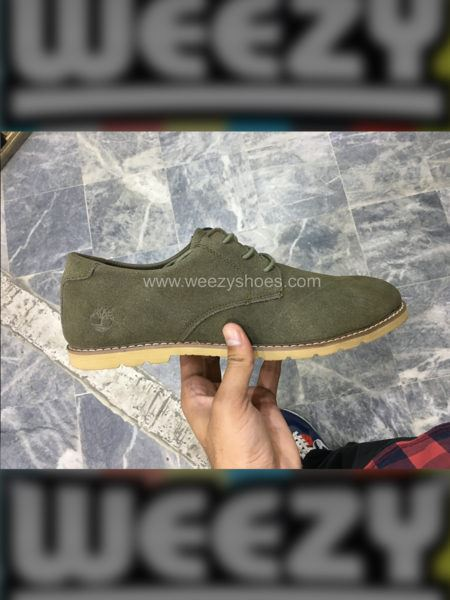 Formal Timberland Suede (Olive)