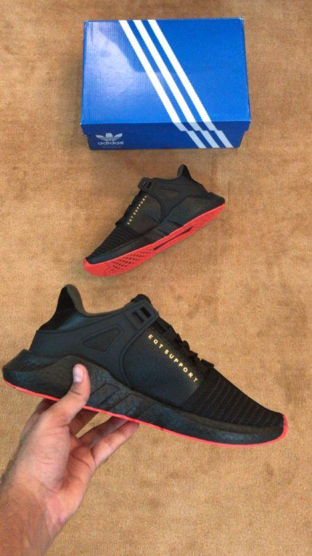 Adidas EQT Support 9317 Red Carpet (Pack Black)